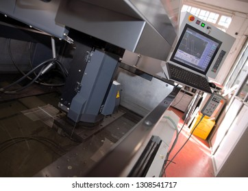 MILANO, ITALY - January 7, 2017 - Italian company specialized in design and production of gears and instruments for clock-making companies, meters and instrumentation - CNC machines.
