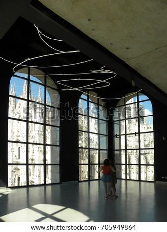 Museo Del 900 Milano.Milano Italy July 14 2017 Museo Stock Photo Edit Now 705949864