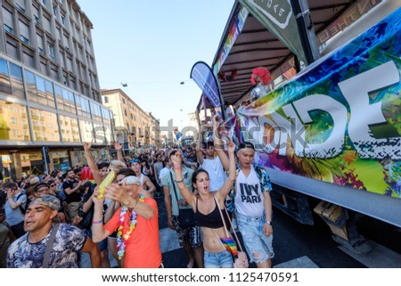 Gay Protest Milan 2018