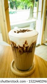 Mild Mocha in Japanese Cafe