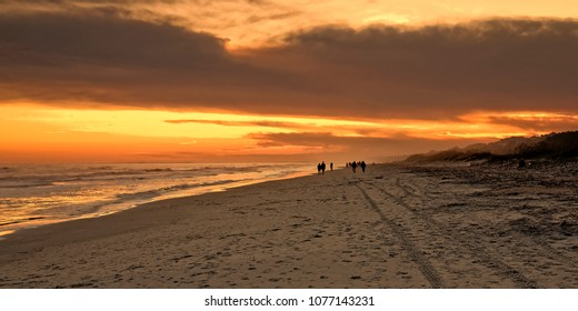 A mild November evening has attracted quite a view sunset watchers on Hilton Head Island.