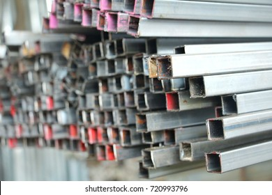 Mild steel box section, Steel box abstract