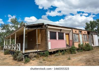 Mildura, Victoria, Australia - March 12, 2017. Elstead Building at the site of Old Mildura Homestead in Mildura, VIC.
