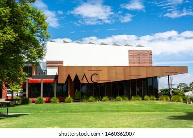 Mildura, Victoria, Australia - March 12, 2017. Exterior view of Mildura Arts Centre in Mildura, VIC.
