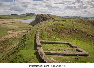 Mile Castle 39 (Castle Nick), Hadrian's Wall, Northumberland, England