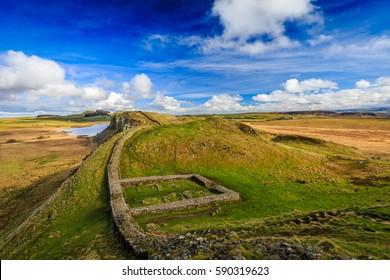 Milecastle 39, Hadrian's Wall, Northumberland, England