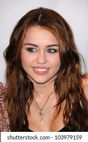 Miley Cyrus at City of Hope's 2nd Annual Concert for Hope. Nokia Theatre, Los Angeles, CA. 10-25-09