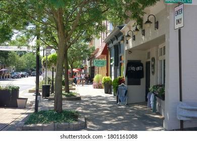 Milford, Michigan - Street scenes at Milford