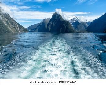 Milford Sound Fjordland, New Zealand, South Island, NZ