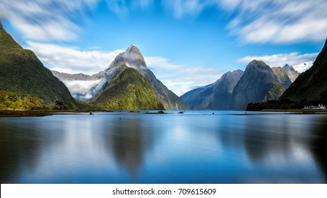 Milford Sound, New Zealand. - Shutterstock ID 709615609