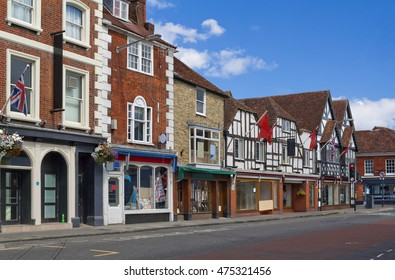Milford Street in Salisbury, United Kingdom