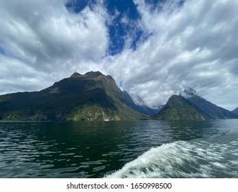 Milfordsound, southwest of New Zealand's South Island