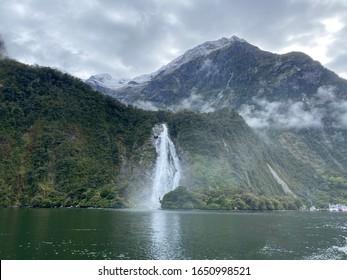 Milfordsound, southwest of New Zealand's South Island