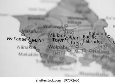 Mililani Town. Hawaii. USA