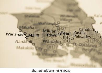 Mililani Town. Hawaii. USA