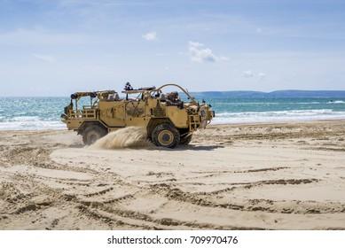 Military Action Vehicle Training
