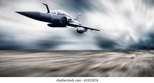 Military airplane speed