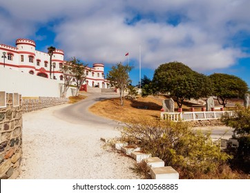 Military Building in the Santa Lucia Park, La Serena, Coquimbo Region, Chile