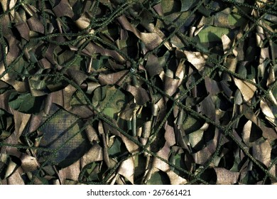 Military camouflage grid