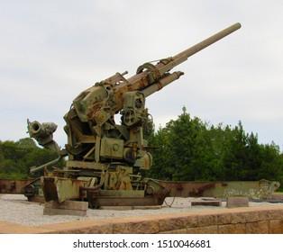 Military Cannon 1900's Artillery Gun