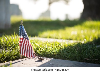Military Cemetery  - Shutterstock ID 415045309
