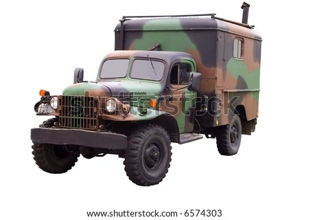 Military dodge power wagon