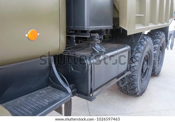 Military Ground Alabino Moscow Oblast Russia Stock Photo