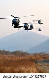 The Military Helicopter