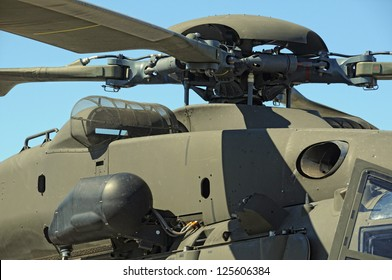 Military helicopter rotor