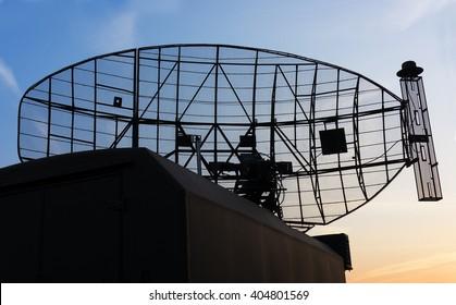 Military mobile radar station