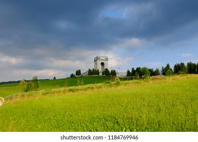 Military monument on Asiago in memory of soldiers died during World War I - Italy