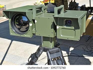 Military night vision camera