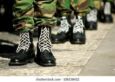 Military parade.