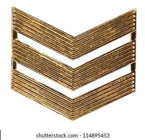 military rank of sergeant