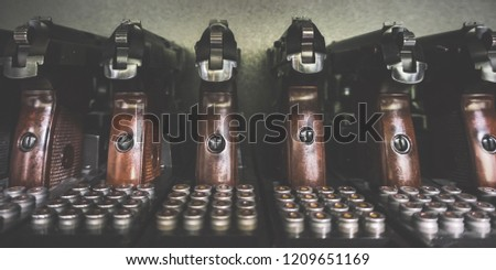 Military Small Arms And