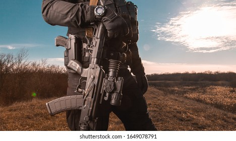 Military tactical photos of special guys