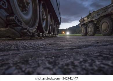 Military Tank.