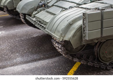 Military tank background
