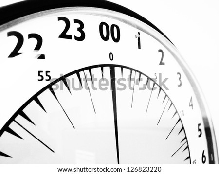 Military Time Clock >> Military Time Clock Stock Photo Edit Now 126823220 Shutterstock