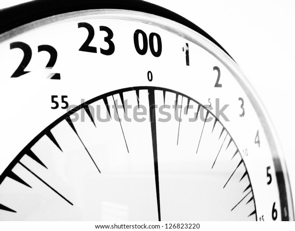 Military Time Clock >> Military Time Clock Stock Photo Edit Now 126823220