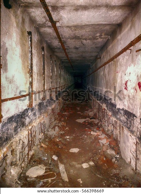 Military Tourism Underground Military Bunker Second Stock