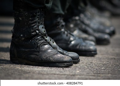 Military training /  Boots