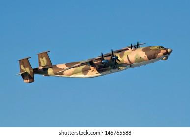 military transport plane
