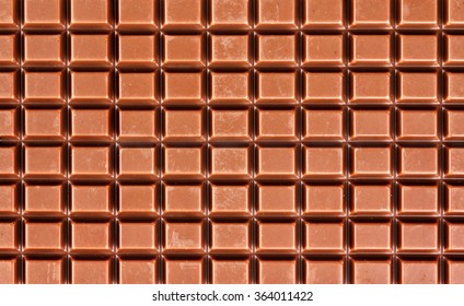 Milk chocolate as a background