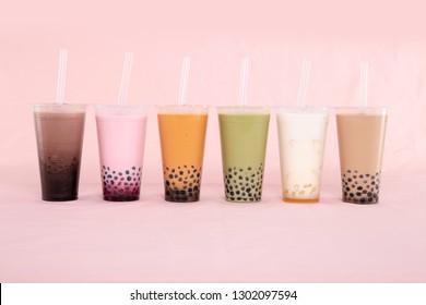 Milk jelly tea
