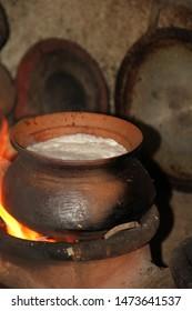 milk pot for sinhala aurudu festival
