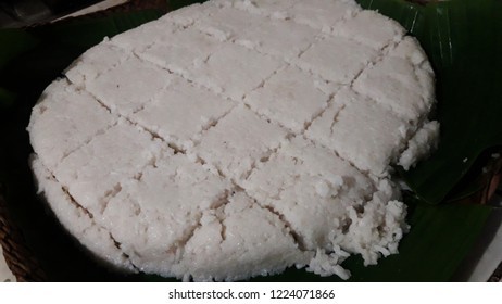 The milk rice is a traditional Sri Lankan food made from rice and coconut milk