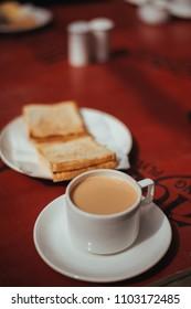 milk tea in Leh,Ladakh, India.
