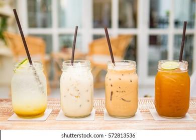 Milk Tea & Lemon Tea