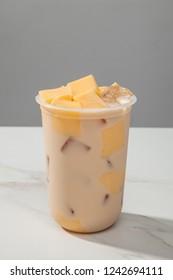 Milk tea pudding